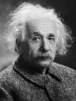 Albert Einstein, zdroj wikipédia