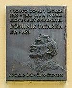 Dominik Tatarka, zdroj wikipédia