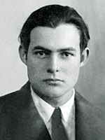 Ernest Hemingway, zdroj wikipédia