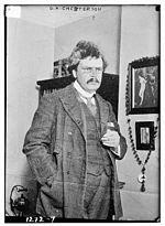 Gilbert Keith Chesterton, zdroj wikipédia