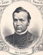 Ján Gotčár, zdroj wikipédia