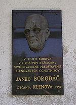 Janko Borodáč, zdroj wikipédia