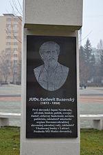 Ľudovít Bazovský, zdroj wikipédia