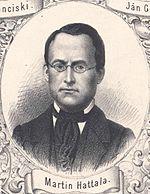 Martin Hattala, zdroj wikipédia