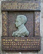 Michal Pavlovič, zdroj wikipédia