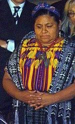 Rigoberta Menchú, zdroj wikipédia