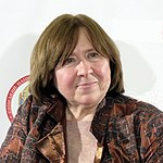 Sviatlana Aľaksandravna Aleksijevičová, zdroj wikipédia