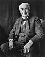 Thomas Alva Edison, zdroj wikipédia